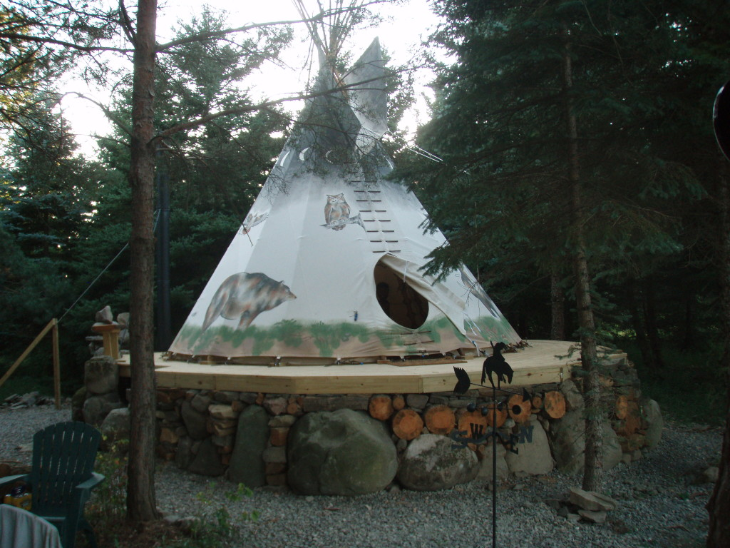 Our 18u2032 Tipi & Nomadics Tipi Makers
